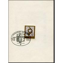 0654 Carterita Corneta Alemania Primer D 40 1972