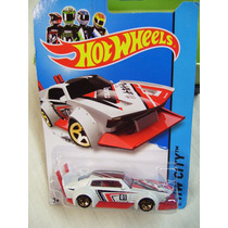 Hot Wheels 2014 Hw City - Mad Manga - White - Red And Black
