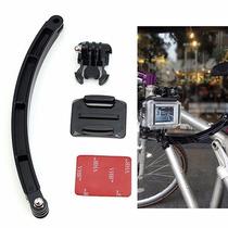 Gopro Accesorio Brazo Extension Con Base Casco Bici Moto