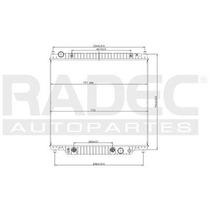Radiador Ford F-150 1999-2000-2001 V8/v10 6.8/7.3lts Aut
