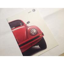Volkswagen Sedan 2000 Folleto Publicitario