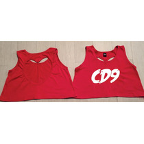 Cd9 Crop Top Espalda Corazon
