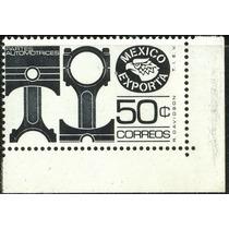 0697 México 4° E 3 Sellos 50c 80c $1 Mint N H 1981-82