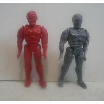 Robocop Set De 2 - Juguete De Plastico - Bootleg D Coleccion