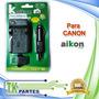 Cargador Cámara Para Canon-02 Bp808/ Bp809/ Bp819