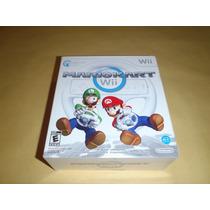 Mario Kart Wii + Volante Wii Wheel Marcas Disco Funcionando