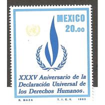 Mexico 1983 35 Aniv Derechos Humanos Mn4