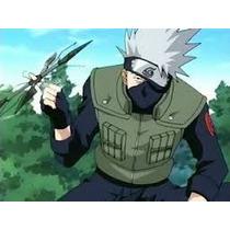 Chaleco Jounin Chunin Kakashi Naruto Talla-grande