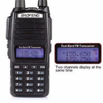 Radio Baofeng Uv82 Doble Banda Vhf Uhf Fm Escaner Mejor Uv5r
