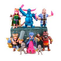 Set Clash Of Clans 6 Figuras Rey Pekka Reyna Bruja Mago