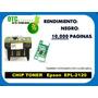 chip Toner Epson epl-2120