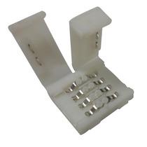 Paquete De 10 Conector Para Tira Rgb 4 Conductores