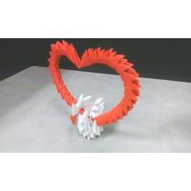 Porta Retrato De Corazón De Origami