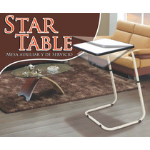 Mesa Star Table Multi Usos, Auxiliar Y De Servicio