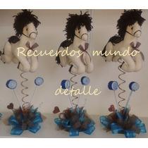 Baby Shower Bautizo Centros De Mesa Originales Caballitos