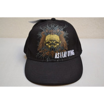 Gorra Cerrada As I Lay Dying Negra Grupo De Rock