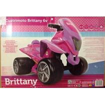 Cuatrimoto Brittany Electrica 6v Montable Para Niña