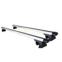 Barras Transversales Aluminio Porta Equipaje Ajustables Rack