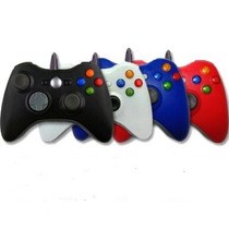 Control Usb Alambrico Compatible Con Xbox 360 Y Pc