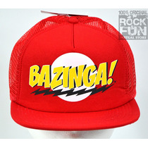 The Big Bang Theory Bazinga Gorra Importada 100% Original