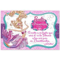 Kit Imprimible Barbie Princesa De La Perla Pearl Princess