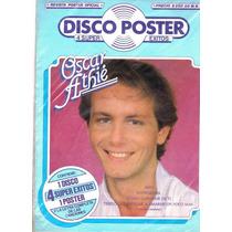 Oscar Athie Disco Poster 1984 Acetato Con El Poster