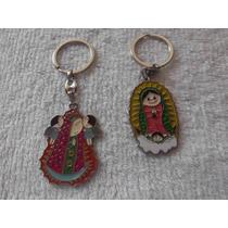 Llavero Personalizado Grabado Virgencita Virgen Bolo