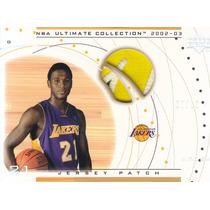 2002-03 Ultimate Jersey Patch Kareem Rush Lakers /10