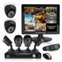 Kit Cctv Videovigilancia 6 Cámaras 8 Canales Vía Celular