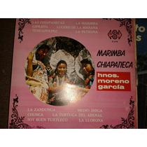 Disco Acetato: Marimba Chiapaneca, Hnos Moreno Garcia