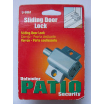 Patio Defender Security Cerrojo Puerta Corrediza Op4