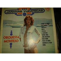Disco Acetato De Jaranas Yucatecas, Orquesta Montejo