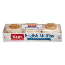 Bahías De Masa Fermentada Inglés Muffins (12 6 Paquetes Ct)