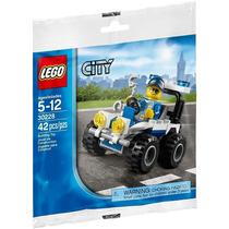 Lego City Police Atv Cuatrimoto De Policia 30228