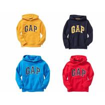 ~sudaderas Gap Niño Con Gorro Colores Talla S M L Xl $389