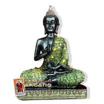 Figura De Buda Meditacion - Hecho A Mano 22 Cm Altura