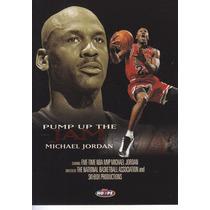 1998-99 Hoops Pump Of The Jam Michael Jordan Bulls