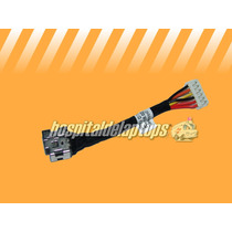 Power Jack Dc In Laptop Hp Cq50 Con Cable Nuevo 50.4h28.001
