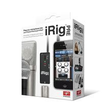 Irig Pre Amp Interface De Microfono Para Iphone, Ipod Y Ipad