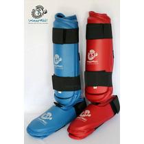 Espinilleras Para Karate Kastell Excelentes Materiales Op4