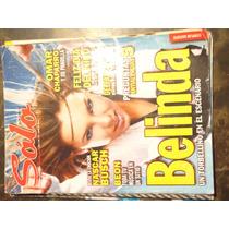 Revista Solo Portada De Belinda De Coleccion