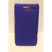 Funda Protector Motorola D1 Xt914 Azul Titanium