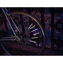 Reflectores Para Bicicleta Set 12 Palitos Para Rayos Llanta