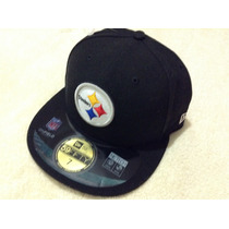 Nfl Pittsburgh Steelers Gorra 7 = 55.8 Cms New Era Acereros