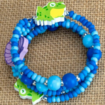 Niños Rana Pulsera - Wild Republic Wrap Childrens Animal
