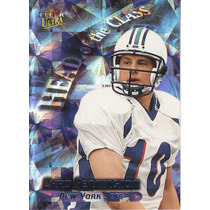 2000 Fleer Ultra Head Of The Class Chad Pennington Qb Jets