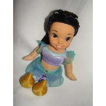 Princesa Jazmin Soft Dinsey Original Barbie Animator Cabbage