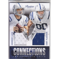 2013 Prestige Connections Jerseys Andrew Luck Coby Fleener
