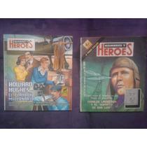 Libro Hombres Y Heroes Lote De 2 Novaro Espiritu De San Luis
