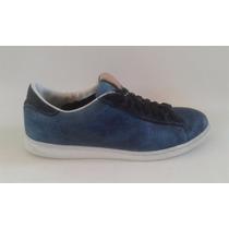 Tenis De Piel Azul Calvin Klein Jeans T-12 Usa 30 Mex